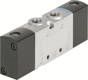 Ekonomicky výhodná řada standardních ventilů VUVS – robustní, s velkým průtokem, mnohostranná a přizpůsobivá. (Foto: Festo AG & Co. KG)